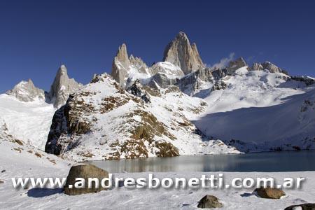 Monte Fitz Roy - El Chaltén - Patagonia - Andrés Bonetti