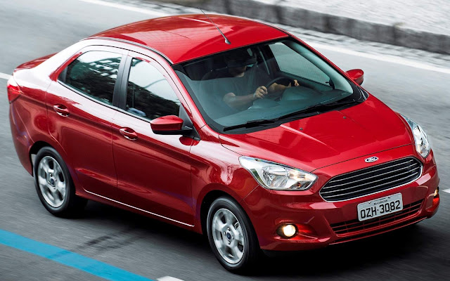 Novo Ford Ka+ (Sedan) - vendas
