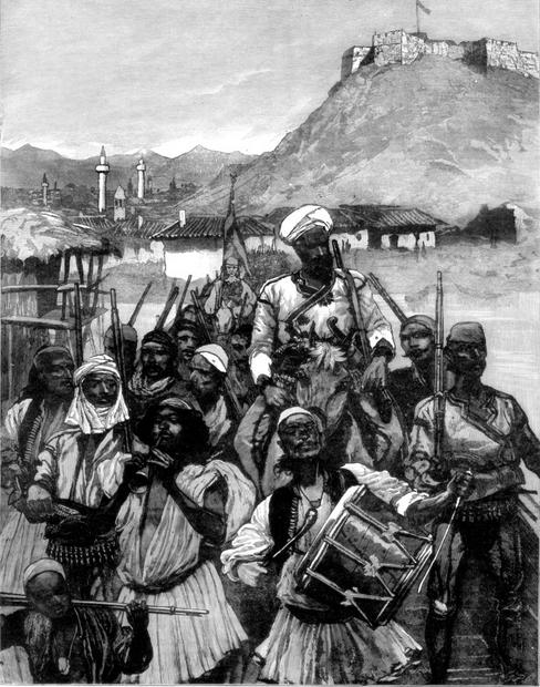 Albanians from Scutari(Shkodra)