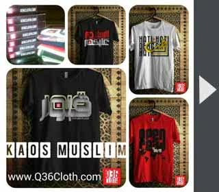 kaos muslim tshirt