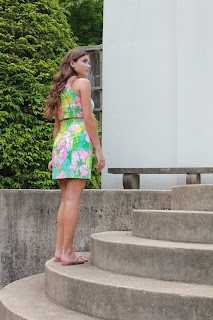 Lilly Pulitzer Vanna Crop Top & Skirt Set Anchors and Pearls