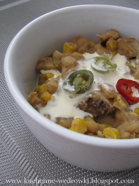 Chilli z białej fasoli i indyka
