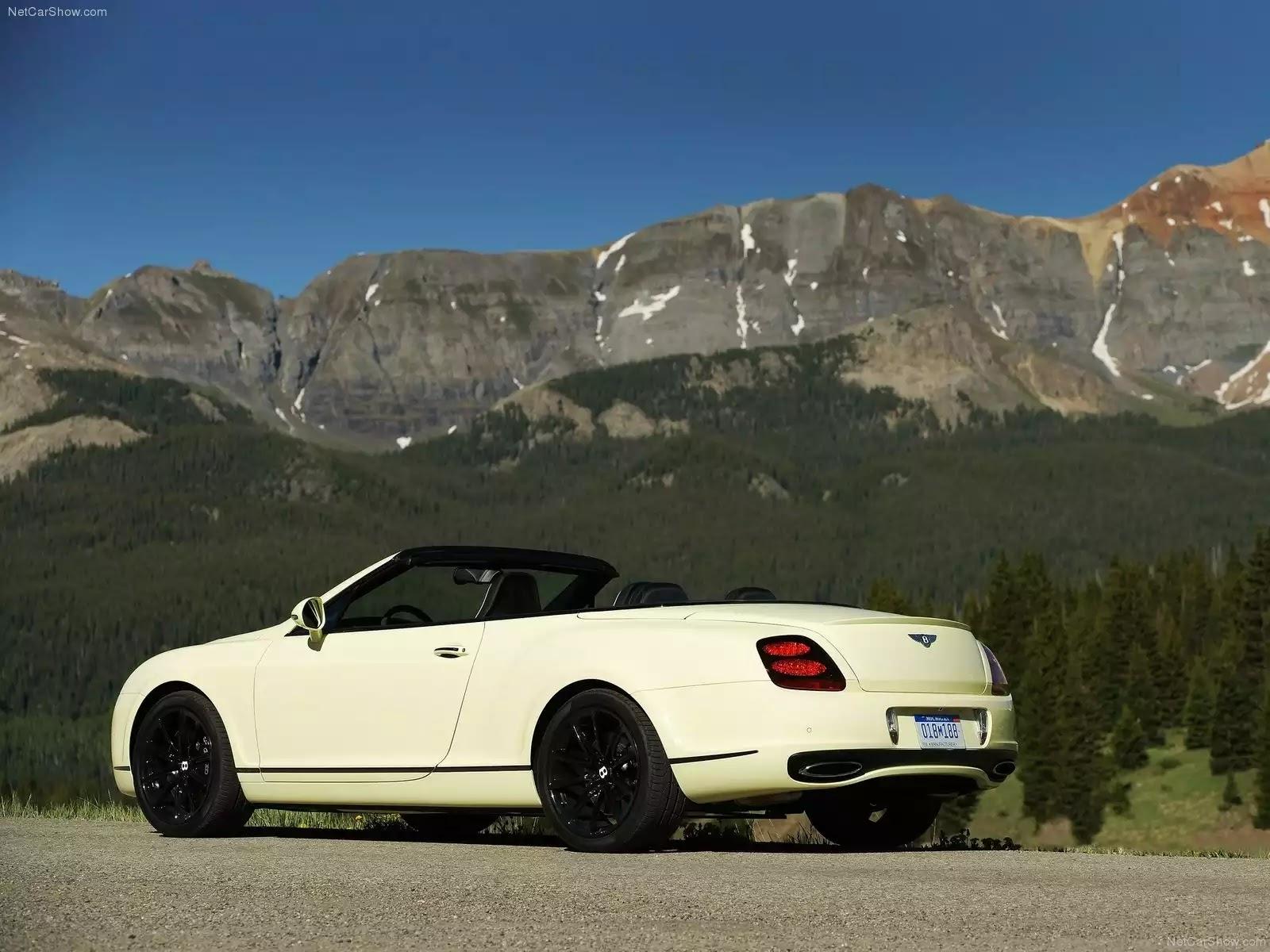 Hình ảnh xe ô tô Bentley Continental Supersports Convertible 2011 & nội ngoại thất