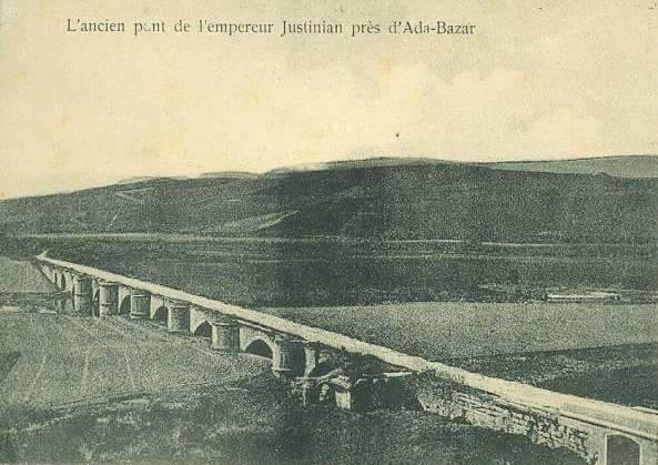 Γέφυρα Ιουστινιανού στον Σαγγάριο