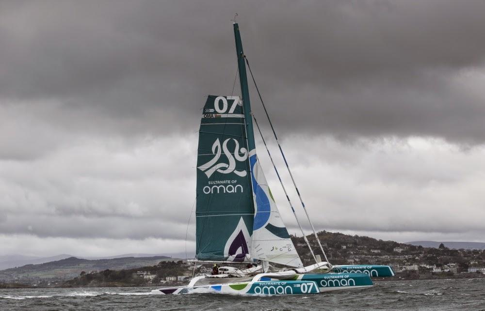 Record d'Irlande battu pour Sidney Gavignet et Oman Sail.