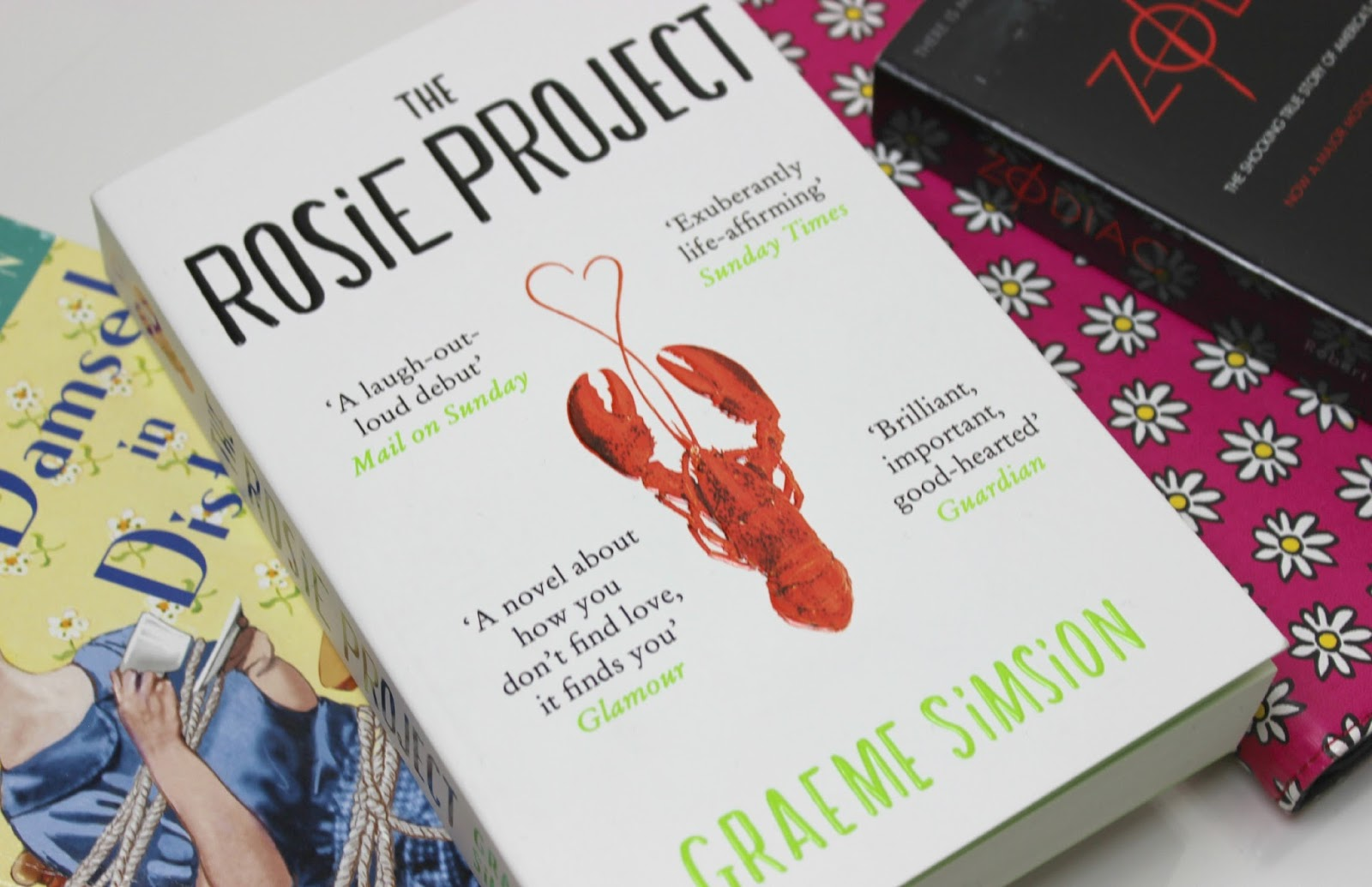 A picture of The Rosie Project by Graeme Simsion