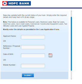Track Status Check Your Applications Courier Payment Tax Status And Track Job Opening Hdfc Bank Loan Applications Status Tracker