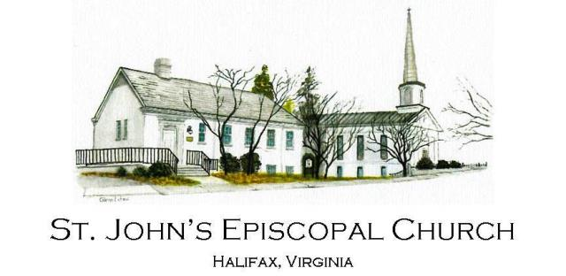 St. John's Episcopal Church, Halifax, Virginia