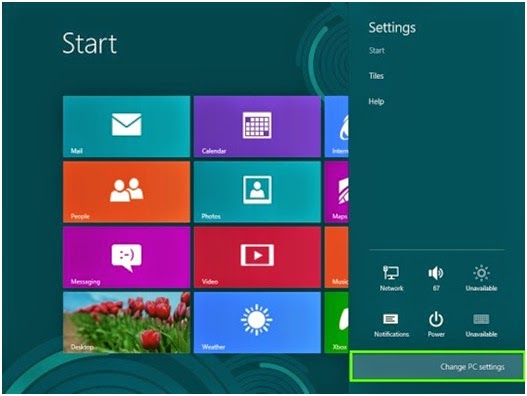 Cara Membuat Shortcut PC Settings di Desktop Windows 8/8.1