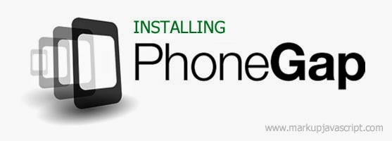 Installing PhoneGap in Windows