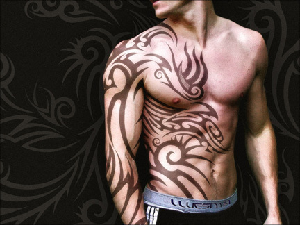 Symbolic Tattoos on Free Tattoo Pictures  Tribal Tattoos   Tradition  Eternity And