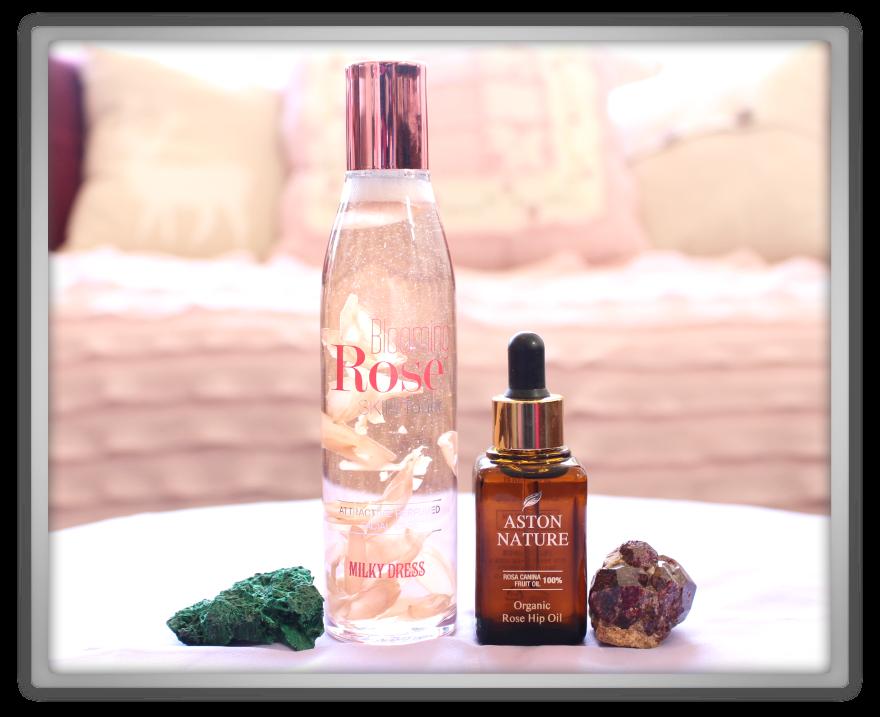 겟잇뷰티박스 by 미미박스 memebox beautybox Memebox special #48 Rose Edition unboxing review box aston nature oil milky dress blooming toner