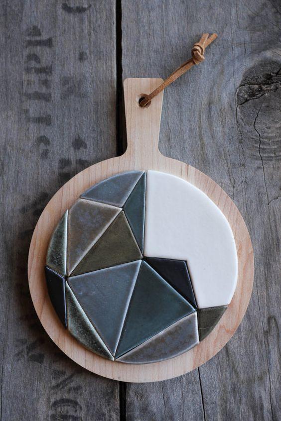 Tábua de cozinha reutilize materiais
