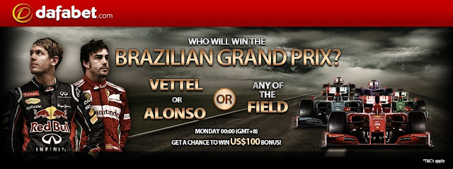 Guess who will win in the brazilian grand prix 2012?