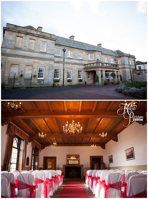 kirkley hall, kirkley hall wedding, northumberland wedding, kirkley hall wedding photos, northumberland wedding venue, wedding halls north east, kirkley college wedding,  winter wedding, katie byram photography, floral quarter, red rose bouquet, thistle wedding,