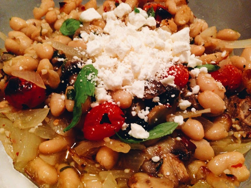 Cannellini roasted beans #ftalesfoodie