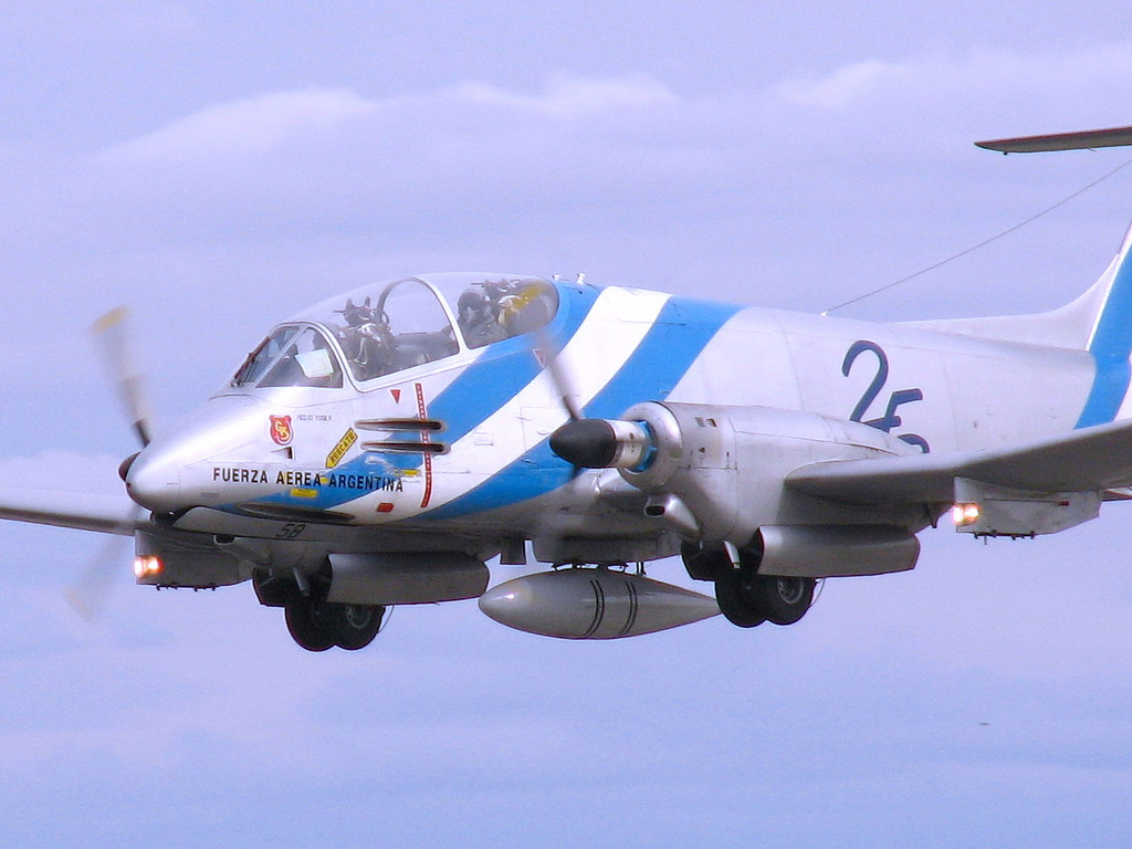 "ARGENTINA ""El FMA IA-58 Pucará"