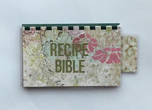 Handmade Hunter Green 'Recipe Bible' Blank Recipe Book for Personal Recipes $8.99 + shipping