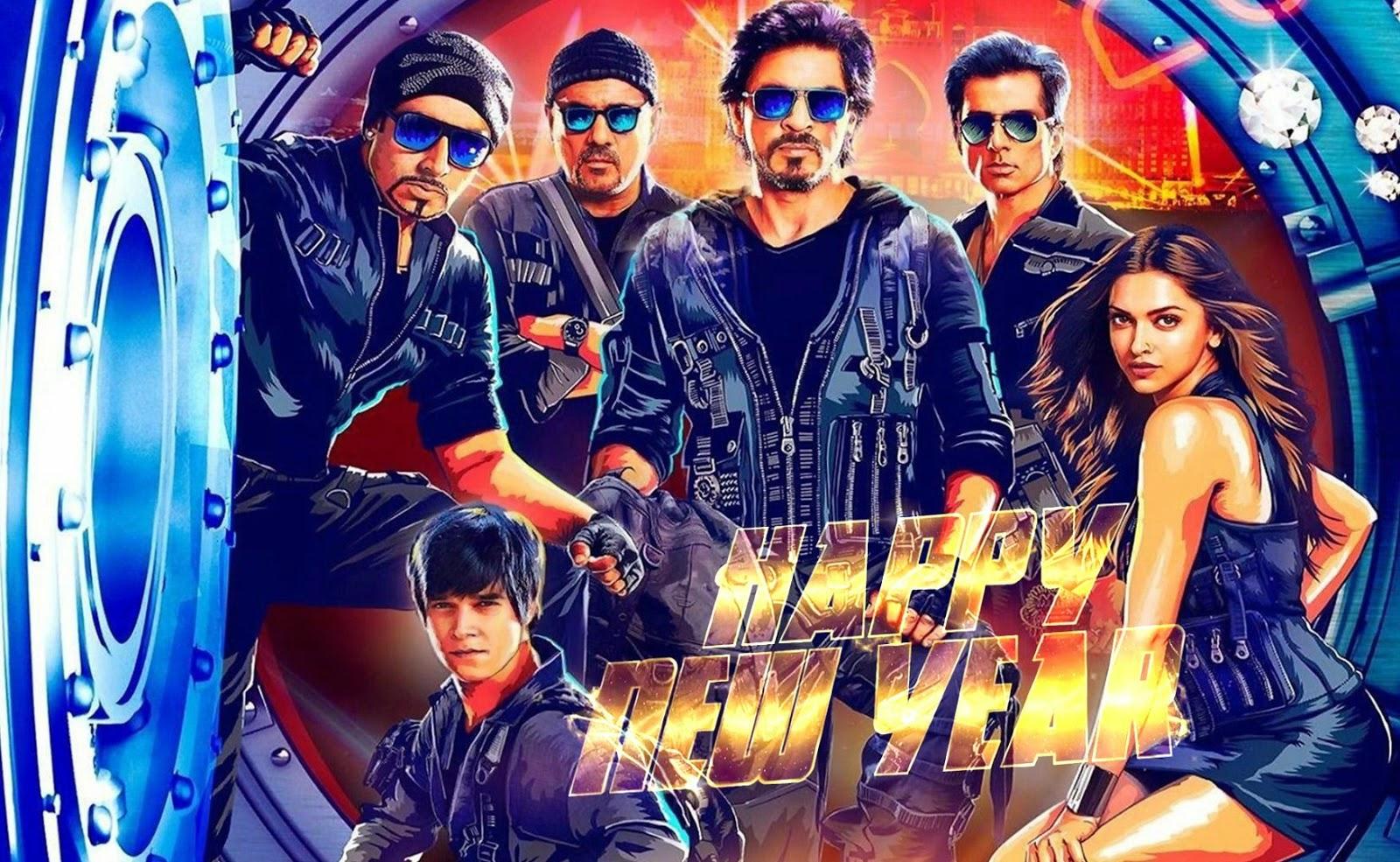 Movie happy new year dipika padu, sharukh khan postor 2014 (Actor and Actress Hd Wallpaper)