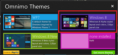 Windows 8 UI chooser for Windows 7: Intelligent Computing