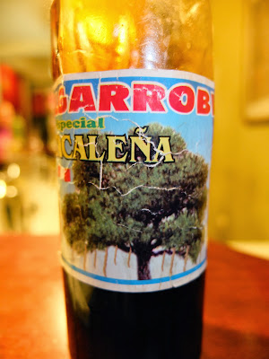 A Bottle of Algarrobina at the Salkantay Lodge – Drink This and You Will Get Muscles?
