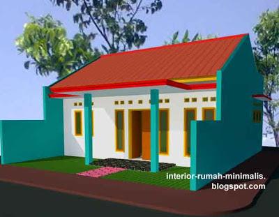 Desain Rumah Minimalis Type 21/60 Sudut 01