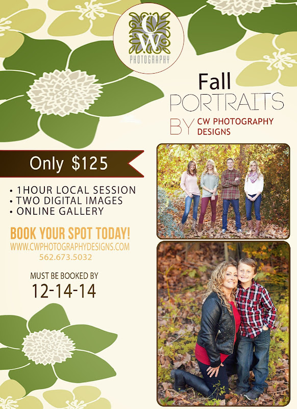 fall portrait special cw photography designs