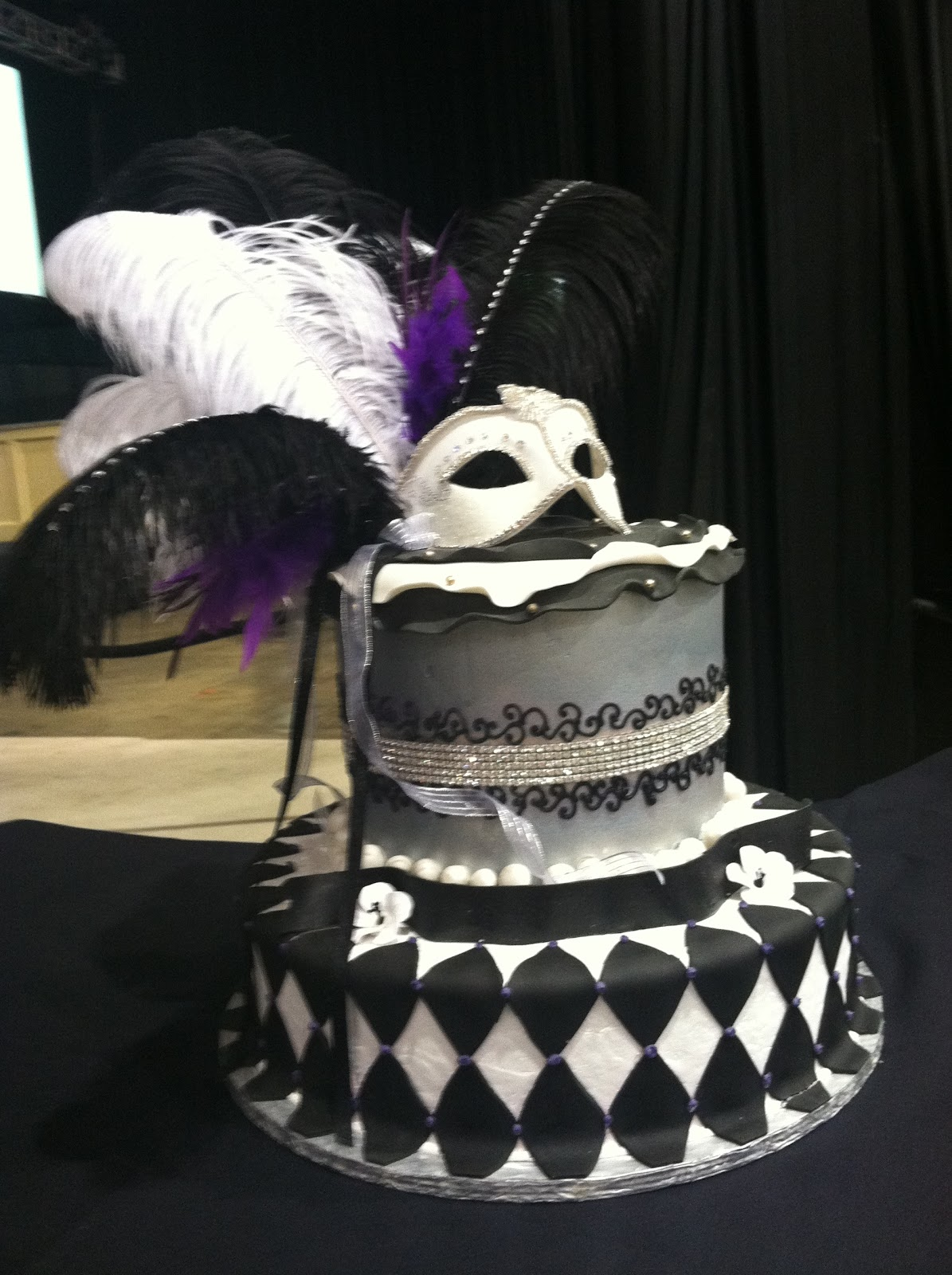 Sweet  Masquerade Birthday Cakes
