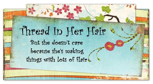 Thread In Her Hair