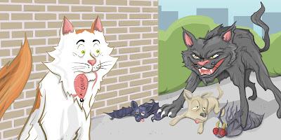 Cat vs Prey
