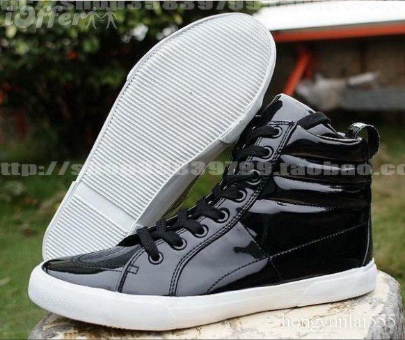 zara men s shoe new black leather shoe sneaker 83d3d - shoes for boys