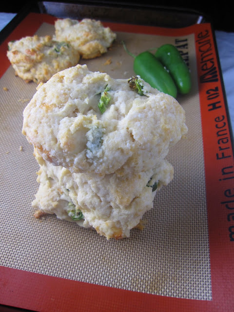 Jalapeno and Mozzarella Biscuits