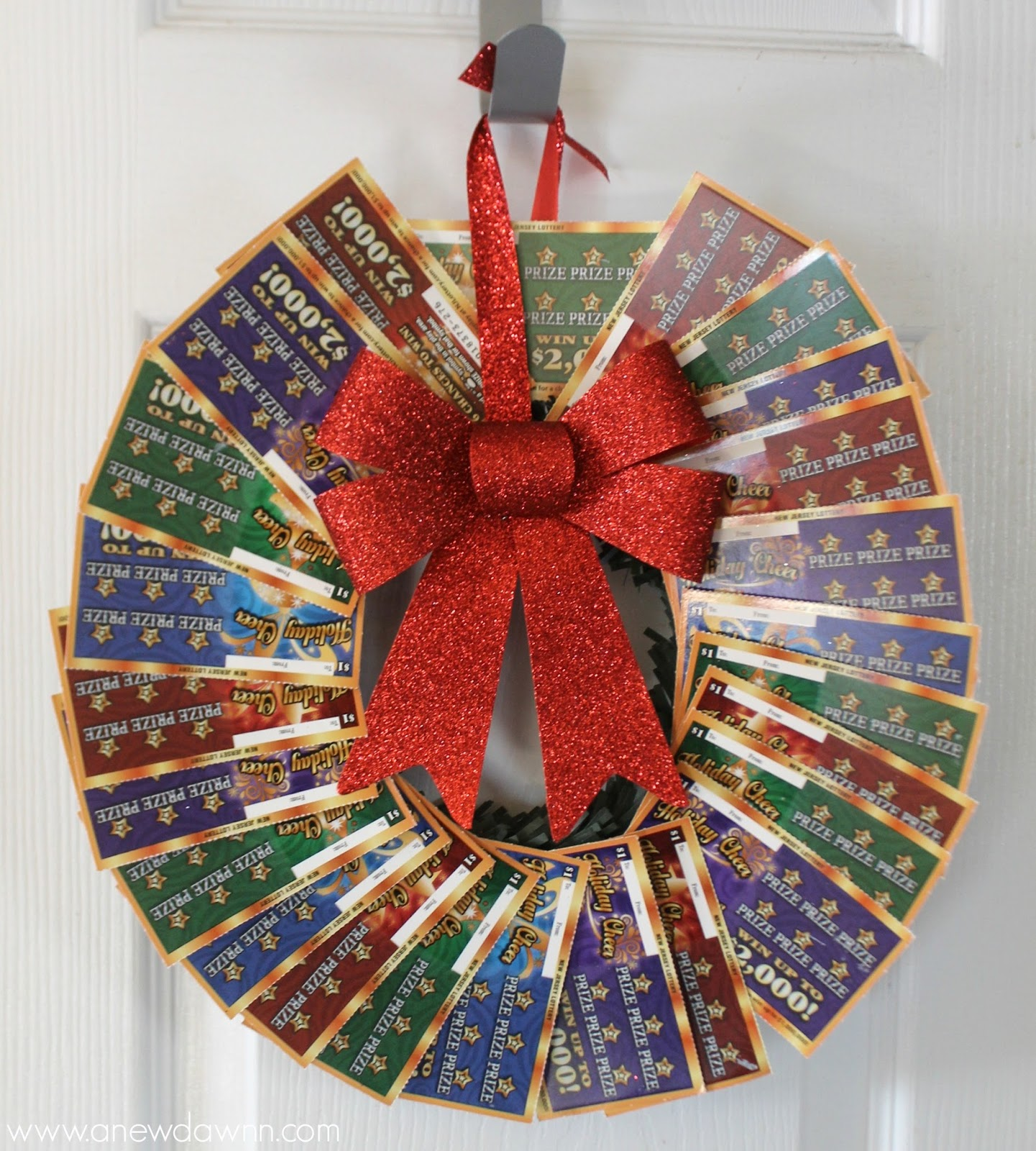 new jersey lottery holiday games diy gift ideas a new dawnn since i didn t want to just hand over a bunch of lottery tickets i had to get creative i wanted to make it fun and festive gift