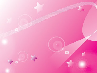 Star in pink background