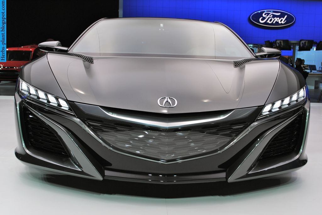 Acura nsx car 2013 front view - صور سيارة اكورا ان اس اكس 2013 من الخارج
