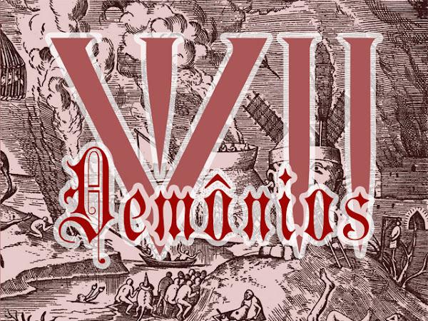 VII Demônios. vol. 2: Gula, Belzebu - vários autores, Editora Estronho