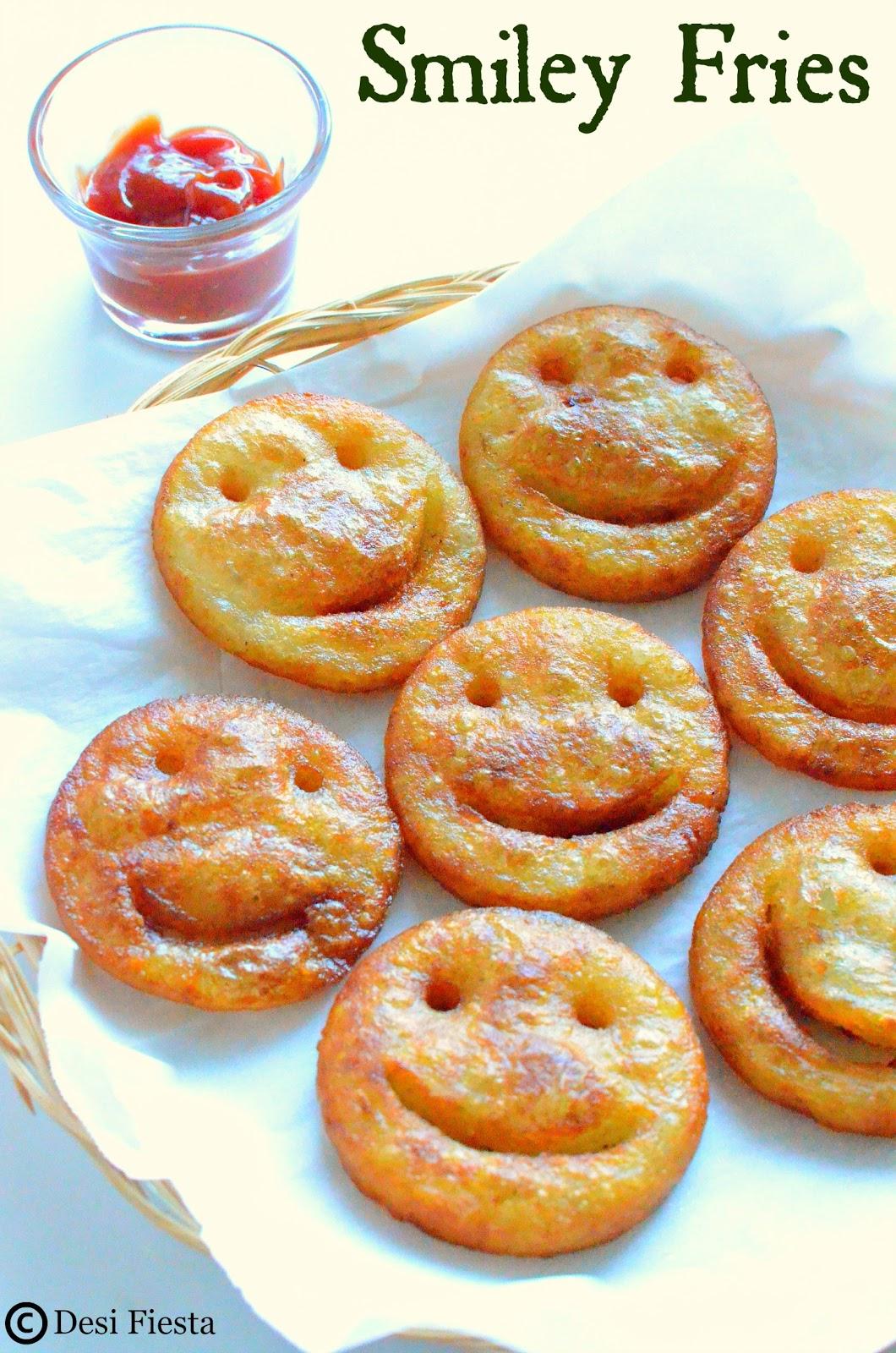 Smiley shaped Recipes