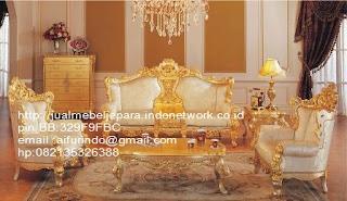 sofa klasik french jepara,sofa klasik jepara Mebel furniture klasik jepara jual set sofa tamu ukir sofa tamu jati sofa tamu antik sofa jepara sofa tamu duco jepara furniture jati klasik jepara SFTM-33081