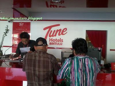 Bintulu, Tune Hotels Bintulu, front desk, lobby,