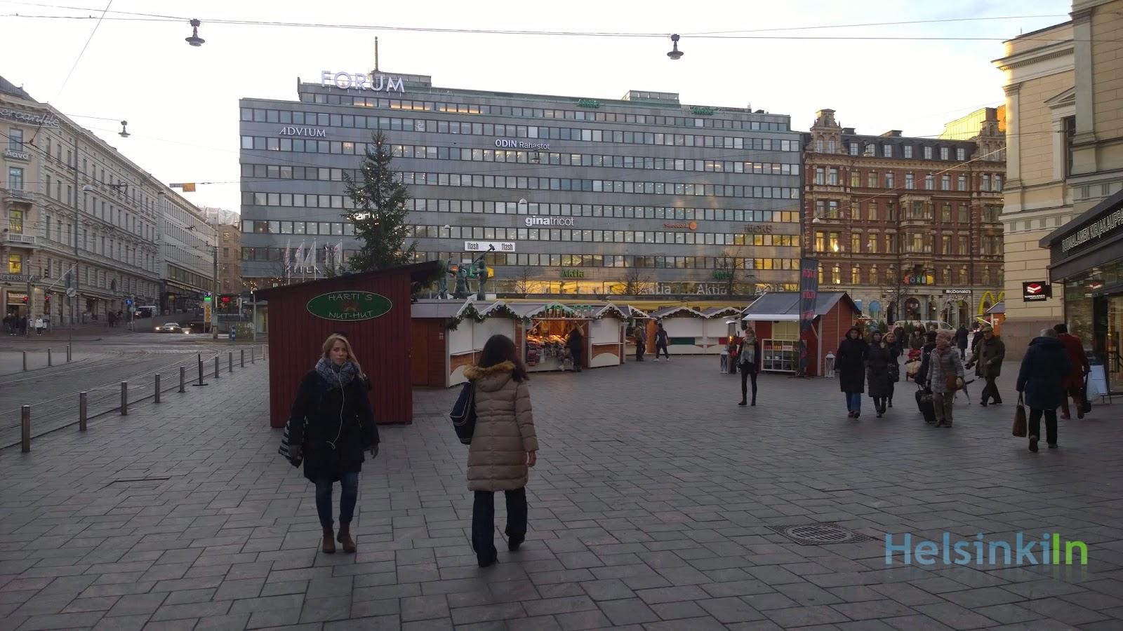 Joulumaailma in Helsinki
