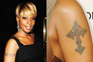 Mary J. Blige Tattoo Designs