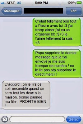 ahaha la conne mdrrr blague iphone
