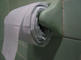 Wordless Wednesday Toilet Paper Quality Control Issues