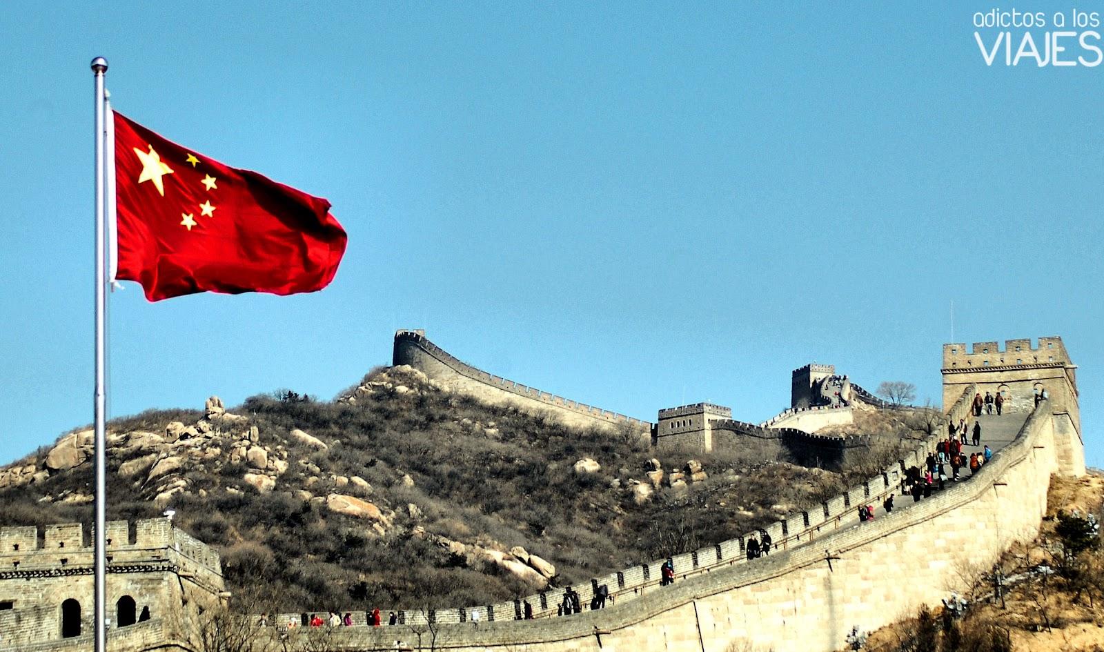 Mi viaje a la muralla china adictos a los viajes blog for Q es la muralla china