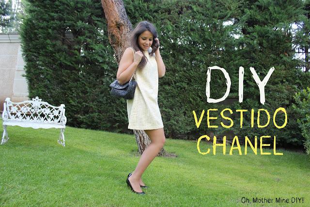 DIY Ropa: Cómo hacer un vestido de cocktail inspirado en Chanel