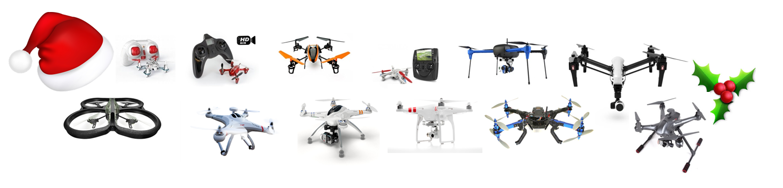 Twelve Drones of Christmas