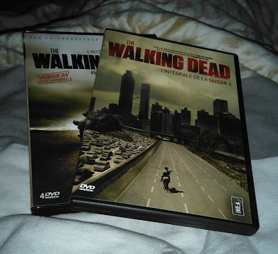 the walking dead, dvd, série, bullelodie