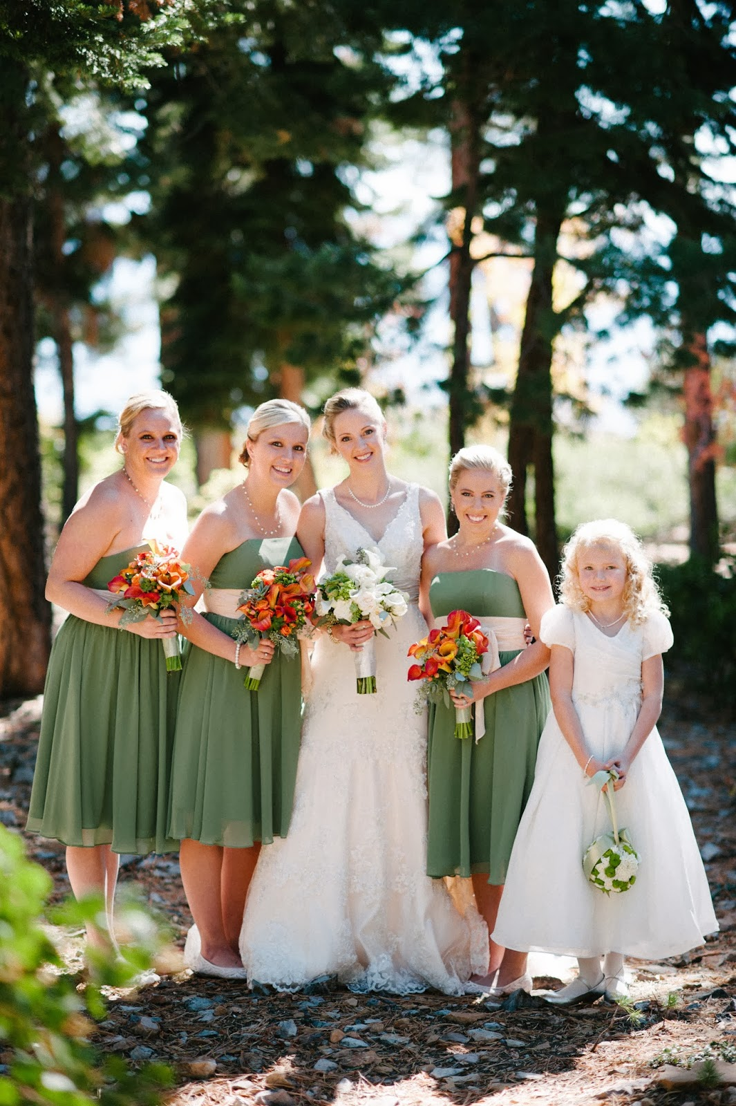 Fall bridesmaids // Acres of Hope Photography // Take the Cake Event Planning