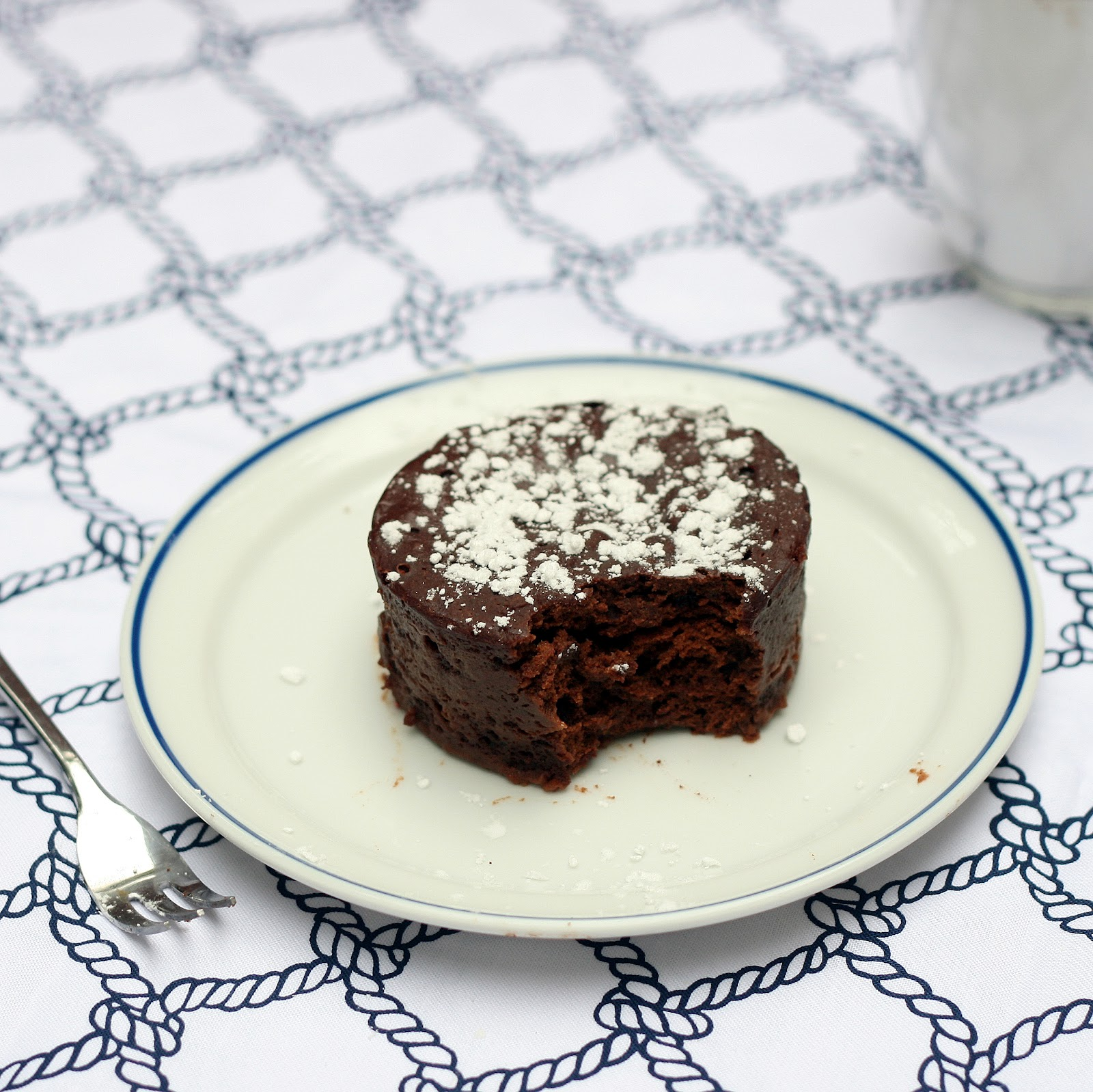 Mix it Up: Single Serving Mocha Fudge Cake