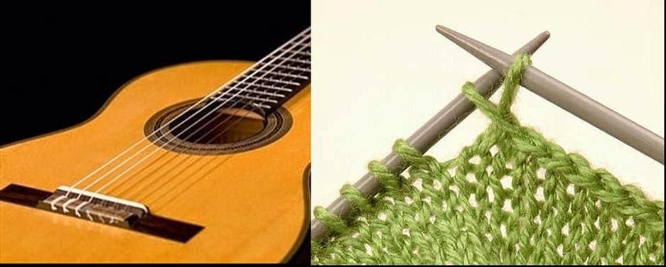 Clases gratuitas de guitarra y tejido